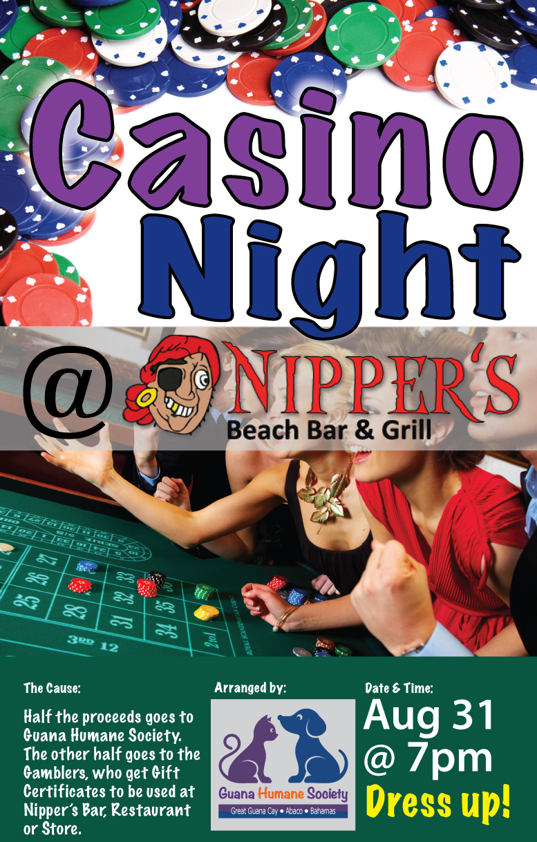 Casino Night at Nippers